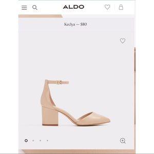 d5883c4bff9 Aldo Shoes - Aldo Keclya mini heel NWOT